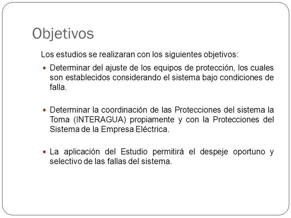 Objetivos Los estudios se realizaran con los siguientes objetivos: