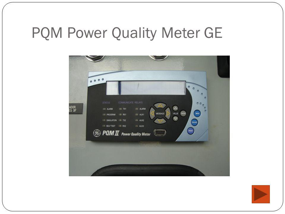 PQM Power Quality Meter GE