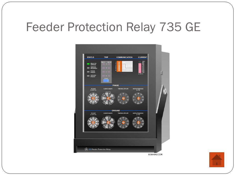 Feeder Protection Relay 735 GE