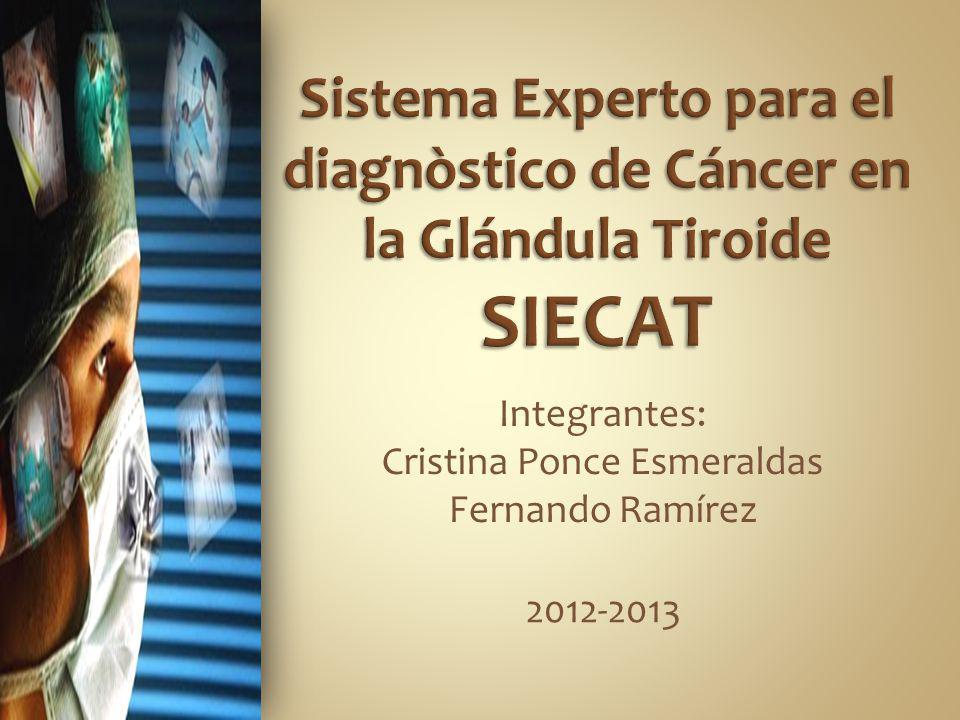 Integrantes: Cristina Ponce Esmeraldas Fernando Ramírez