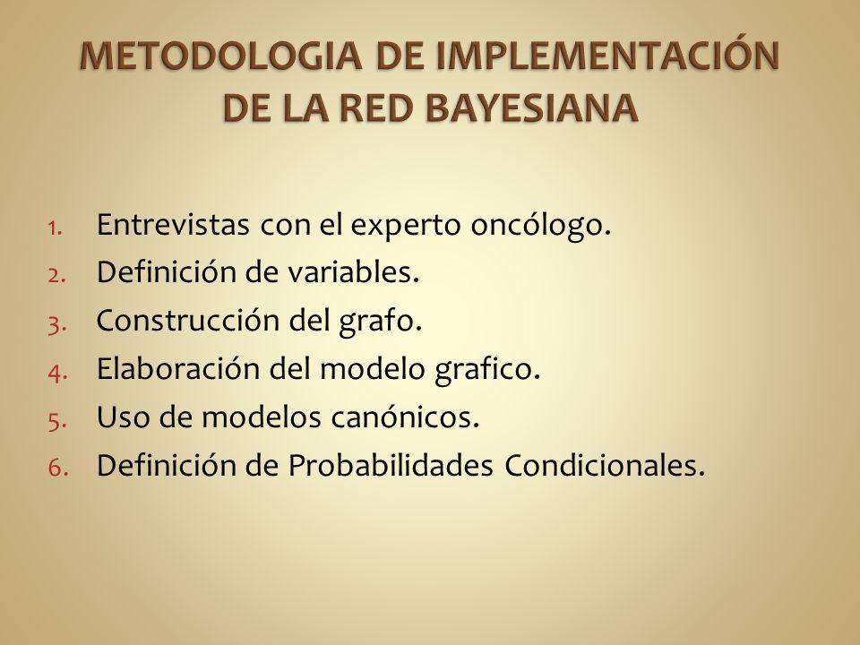 METODOLOGIA DE IMPLEMENTACIÓN DE LA RED BAYESIANA