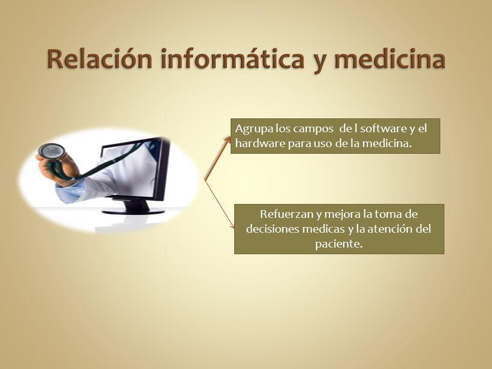 Relación informática y medicina
