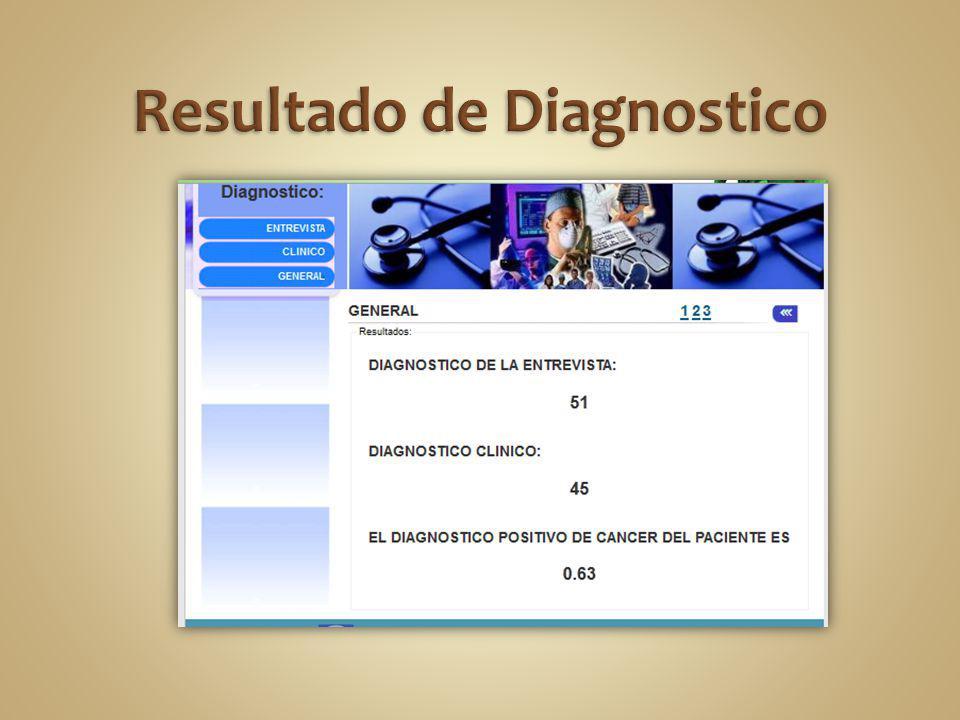 Resultado de Diagnostico