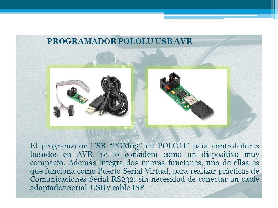 PROGRAMADOR POLOLU USB AVR