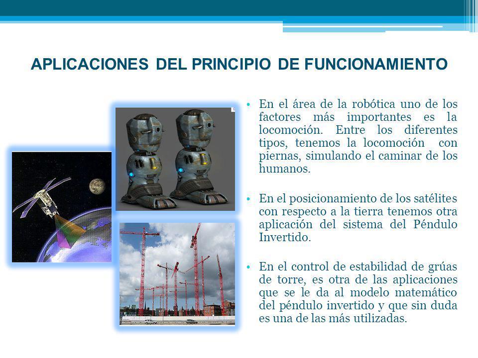APLICACIONES DEL PRINCIPIO DE FUNCIONAMIENTO