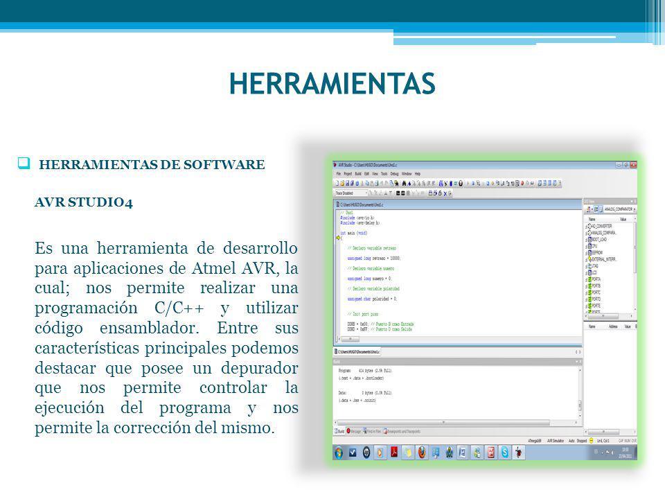 HERRAMIENTAS HERRAMIENTAS DE SOFTWARE