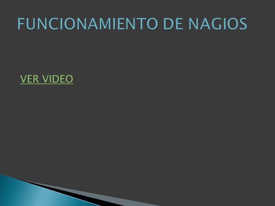FUNCIONAMIENTO DE NAGIOS