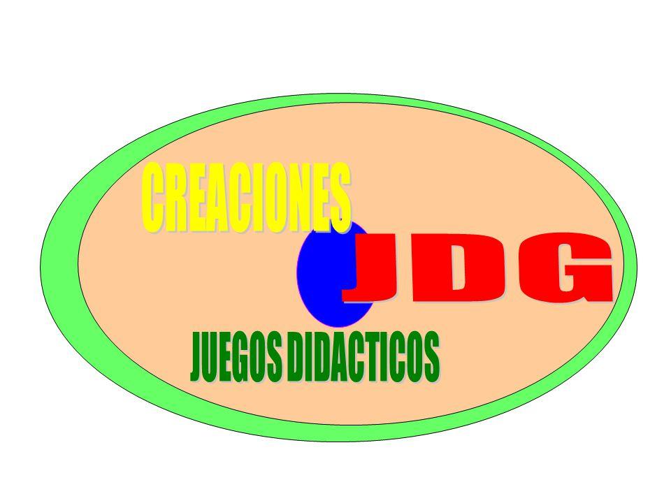 CREACIONES JDG JUEGOS DIDACTICOS