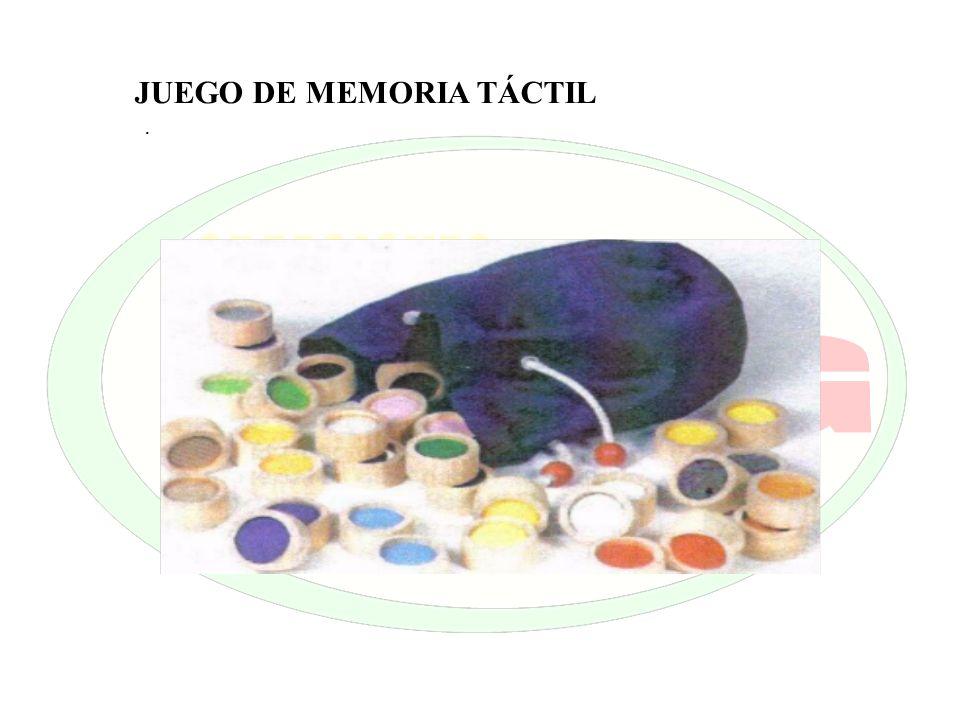 JUEGO DE MEMORIA TÁCTIL