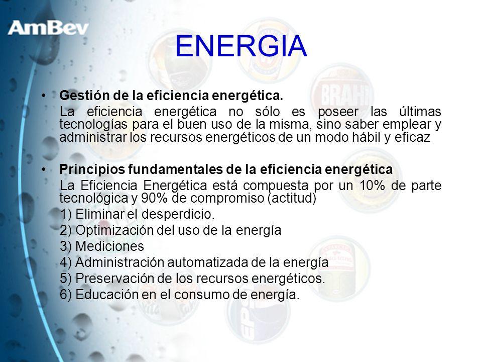 ENERGIA Gestión de la eficiencia energética.