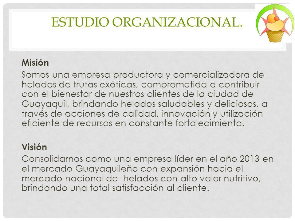 ESTUDIO ORGANIZACIONAL.