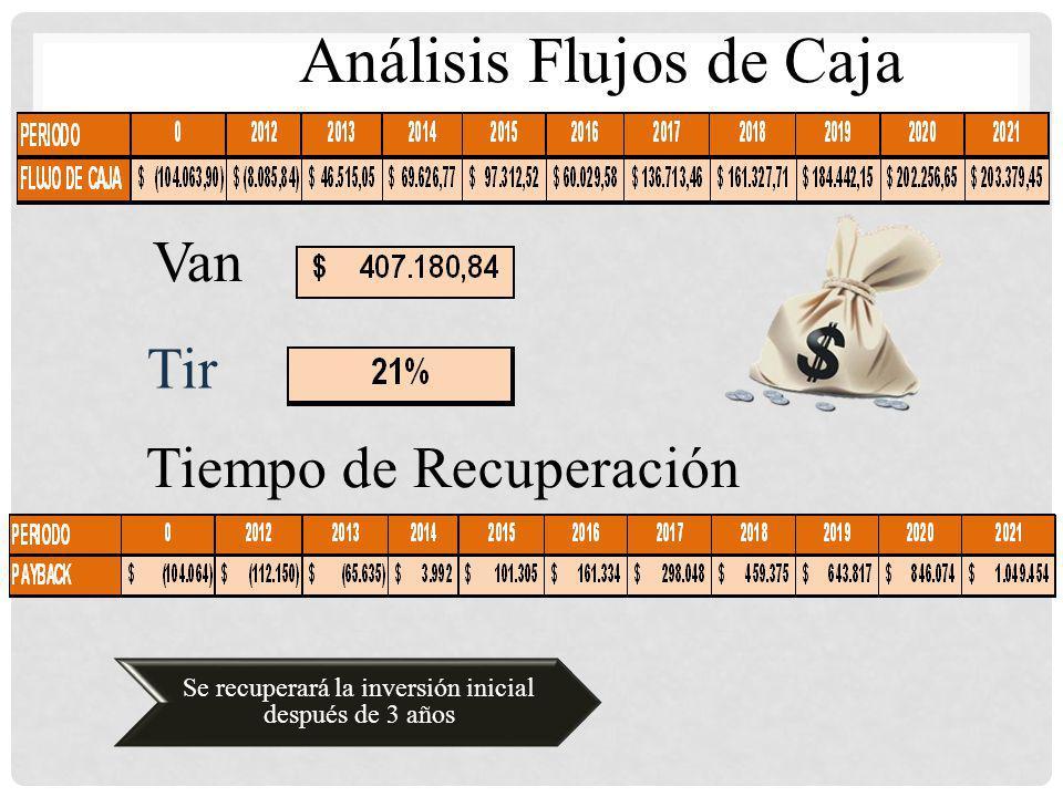 Análisis Flujos de Caja