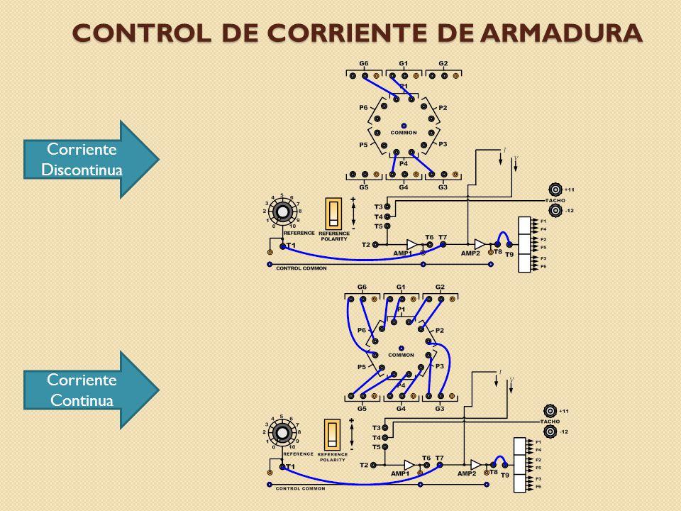 Control de corriente de armadura