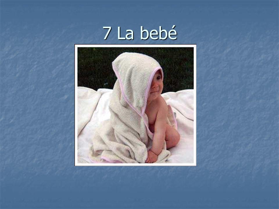 7 La bebé