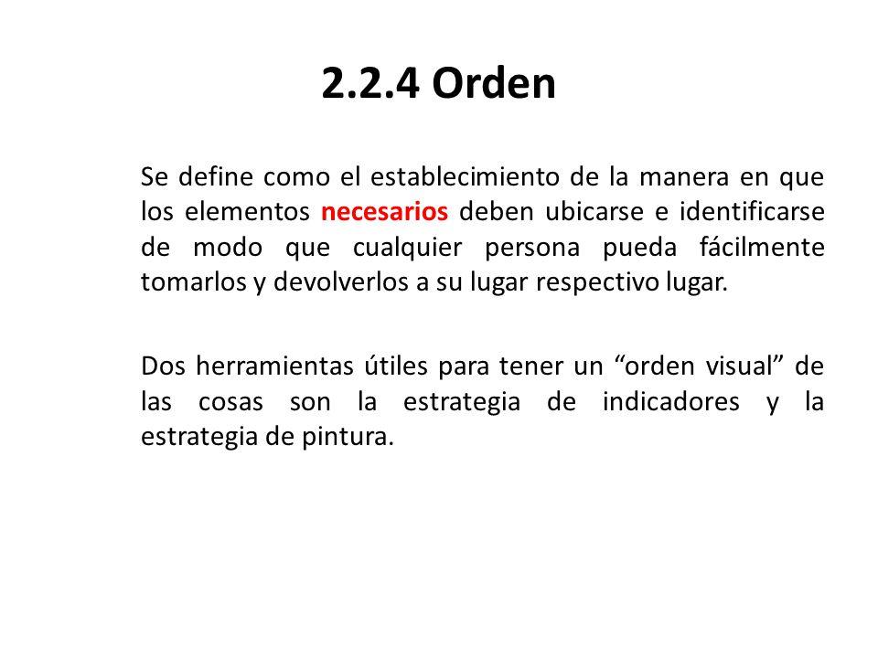 2.2.4 Orden