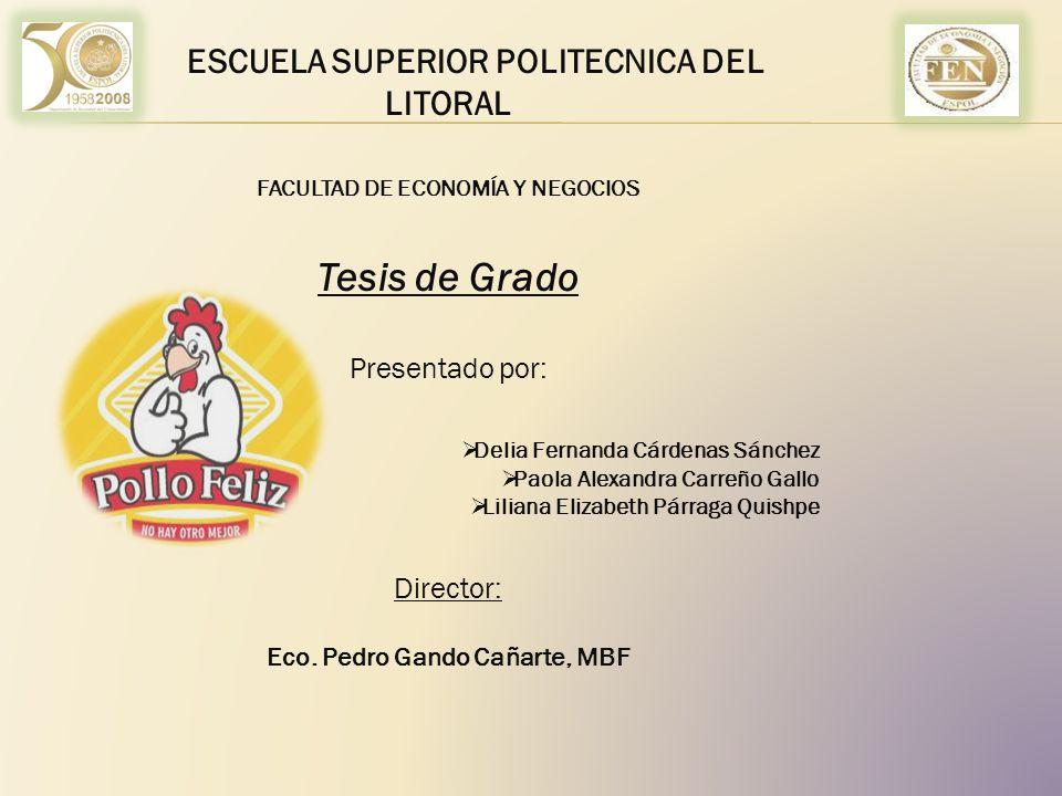 Tesis de Grado ESCUELA SUPERIOR POLITECNICA DEL LITORAL