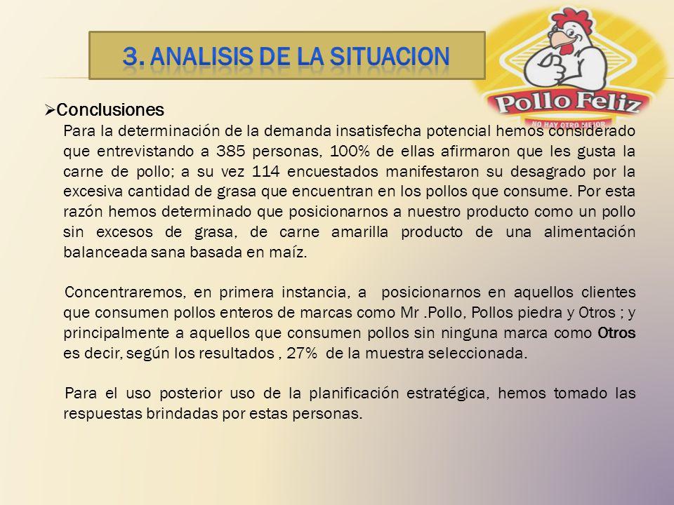 3. ANALISIS DE LA SITUACION