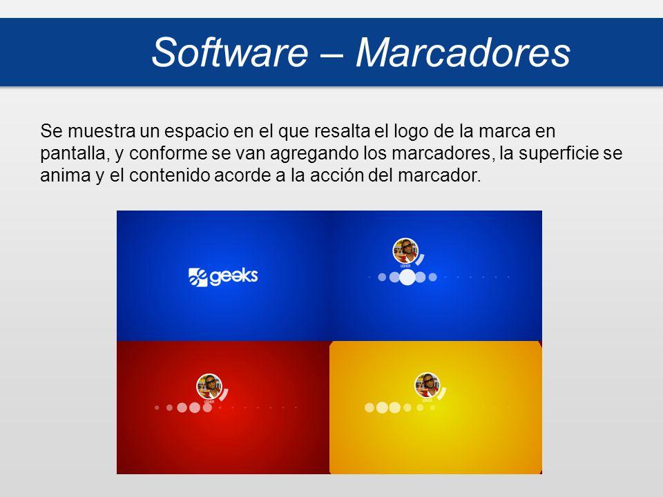 Software – Marcadores