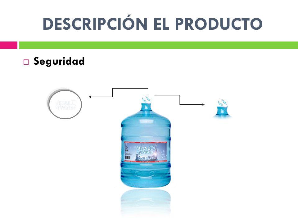 DESCRIPCIÓN EL PRODUCTO