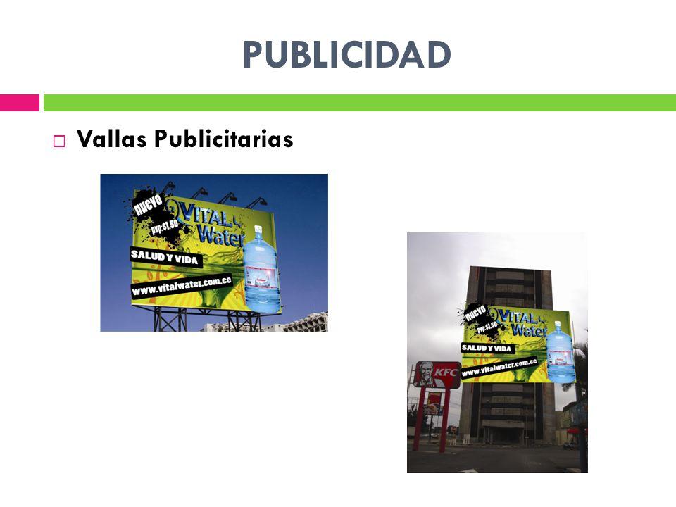 PUBLICIDAD Vallas Publicitarias