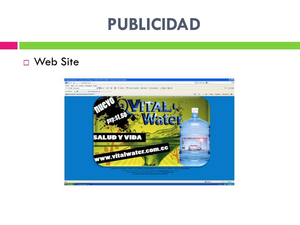 PUBLICIDAD Web Site