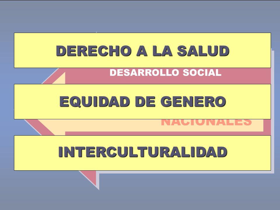 DERECHO A LA SALUD EQUIDAD DE GENERO INTERCULTURALIDAD