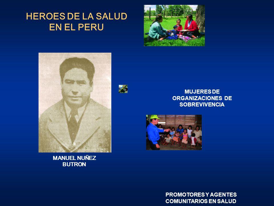 HEROES DE LA SALUD EN EL PERU