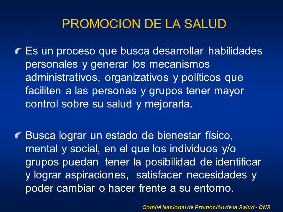 PROMOCION DE LA SALUD