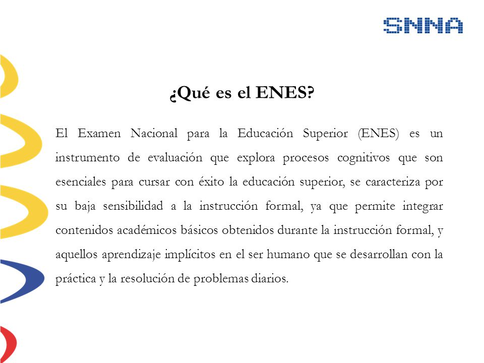 ¿Qué es el ENES