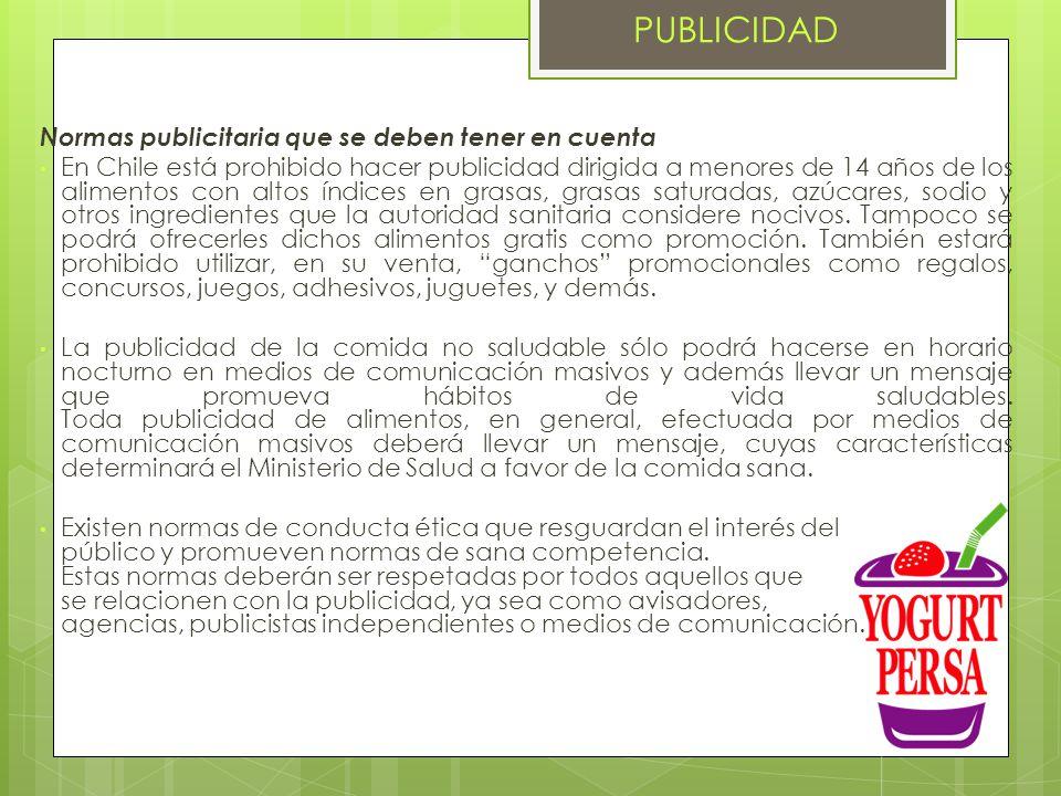 PUBLICIDAD Normas publicitaria que se deben tener en cuenta