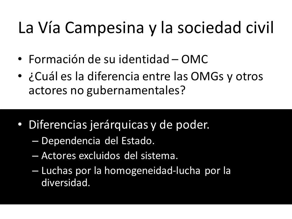 La Vía Campesina y la sociedad civil