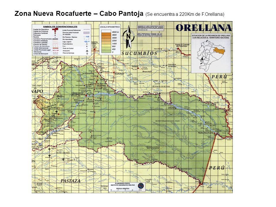 Zona Nueva Rocafuerte – Cabo Pantoja (Se encuentra a 220Km de F