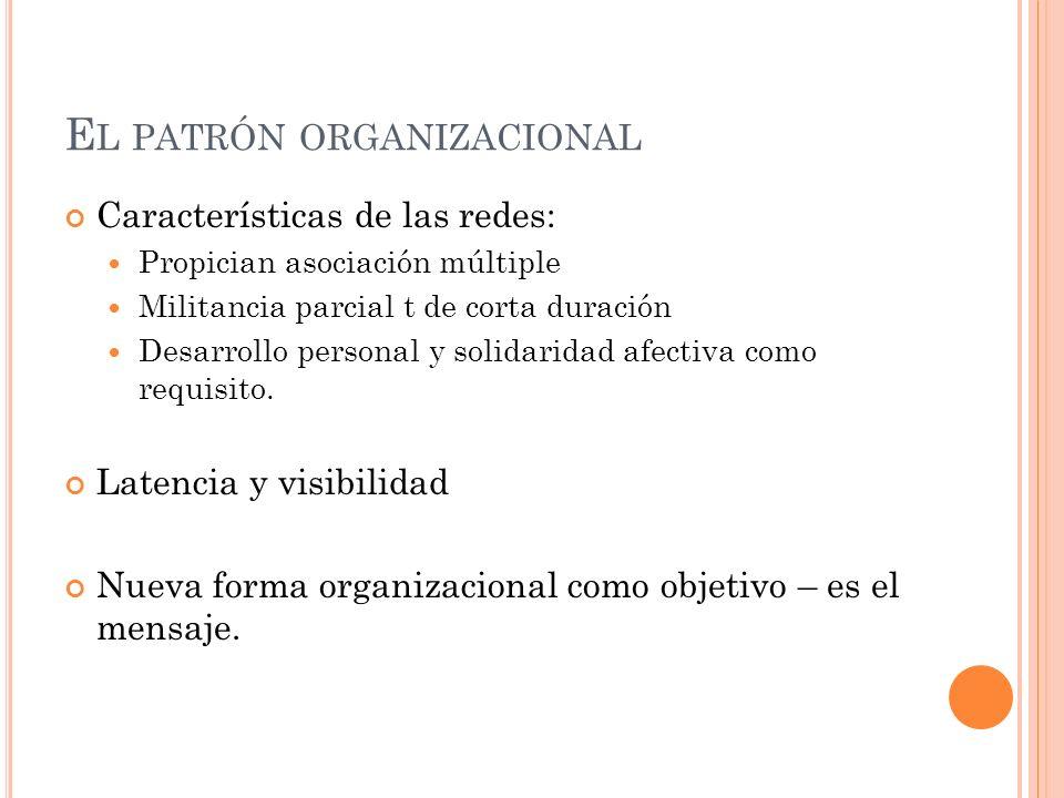 El patrón organizacional