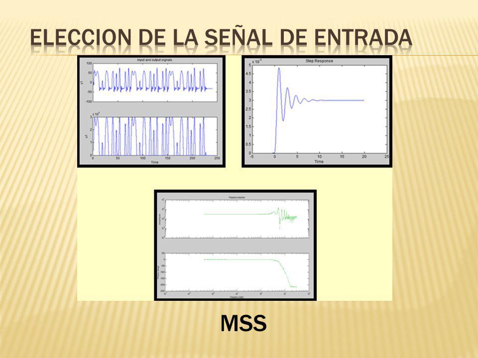ELECCION DE LA SEÑAL DE ENTRADA