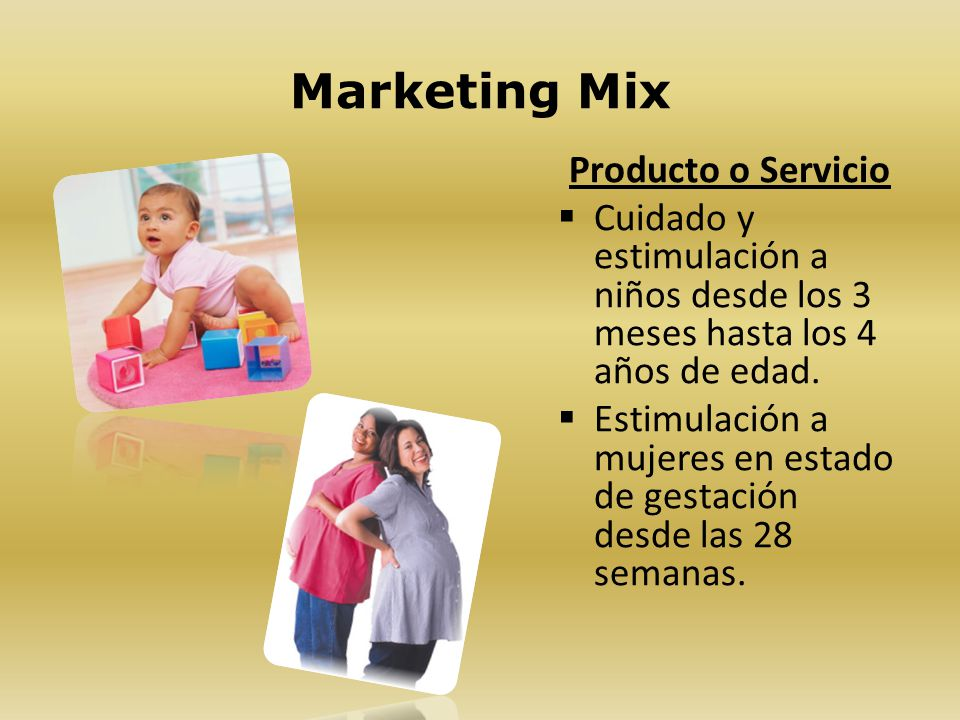 Marketing Mix Producto o Servicio