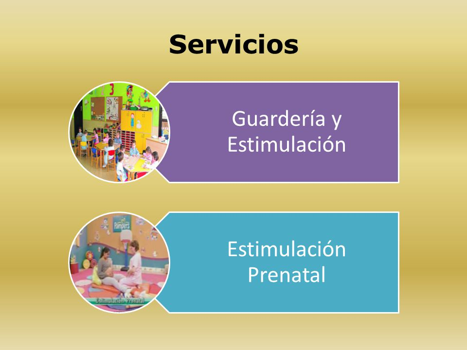 Servicios Guardería y Estimulación Estimulación Prenatal