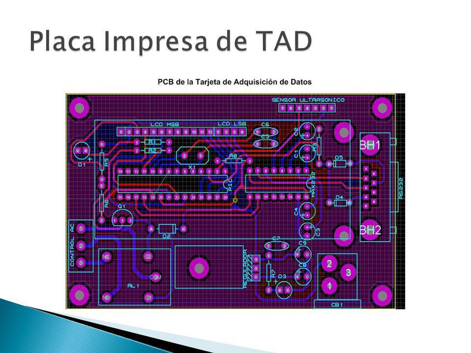 Placa Impresa de TAD