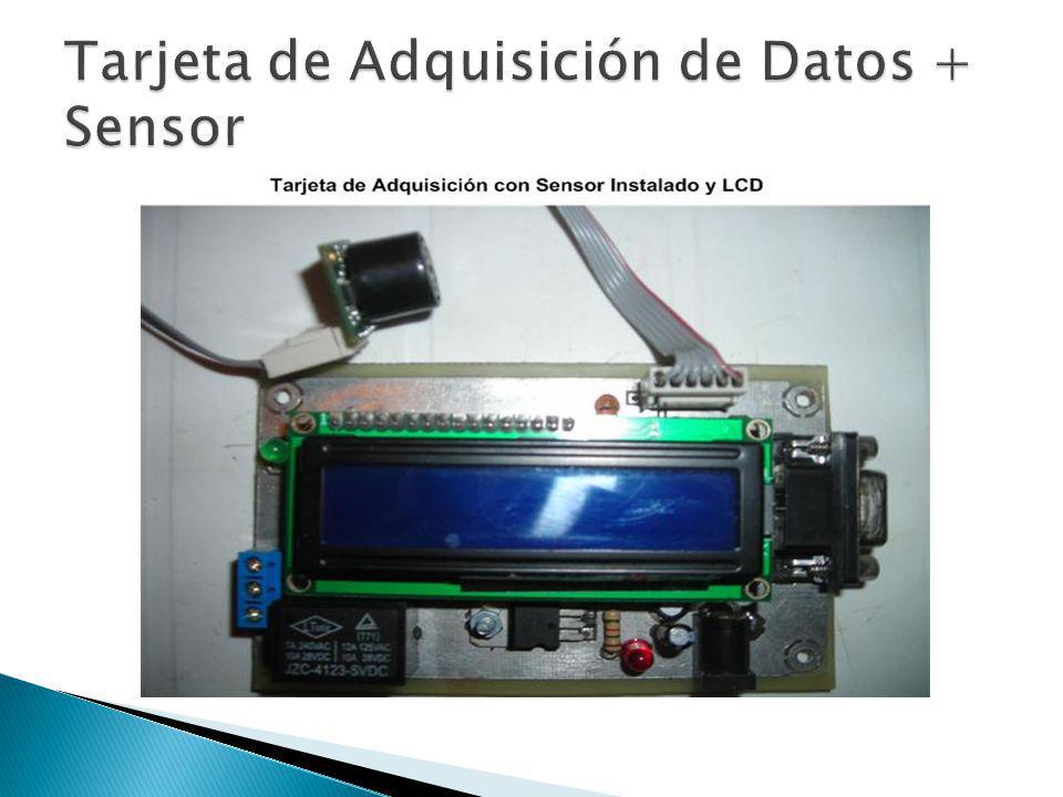 Tarjeta de Adquisición de Datos + Sensor