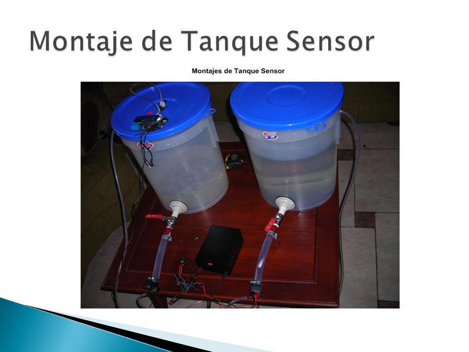 Montaje de Tanque Sensor