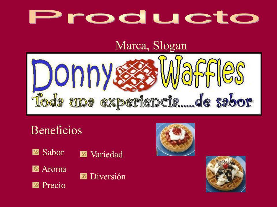 Producto Marca, Slogan Beneficios Sabor Variedad Aroma Precio