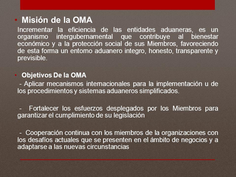 Misión de la OMA