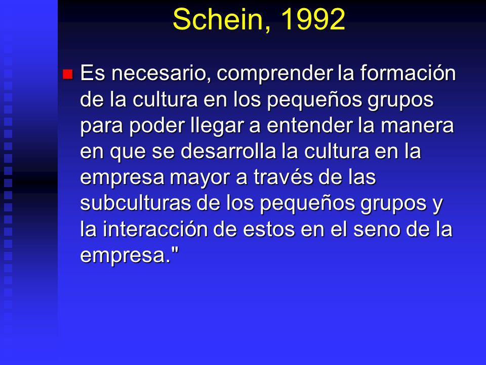 Schein, 1992