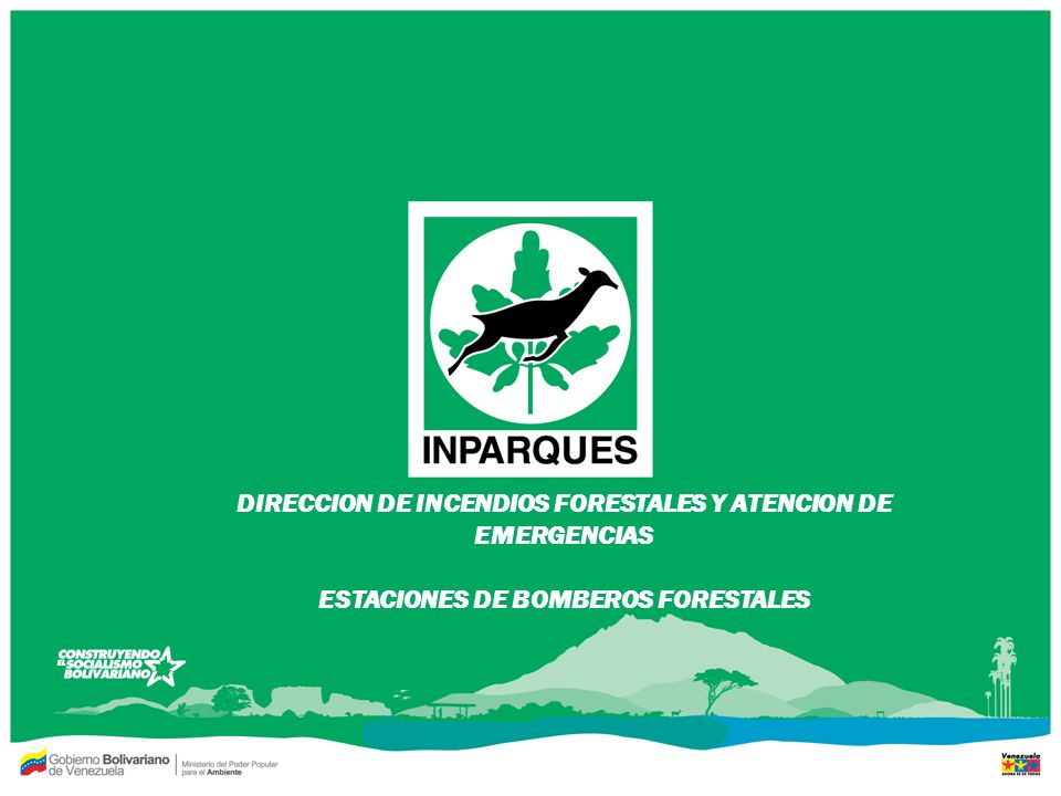 DIRECCION DE INCENDIOS FORESTALES Y ATENCION DE EMERGENCIAS