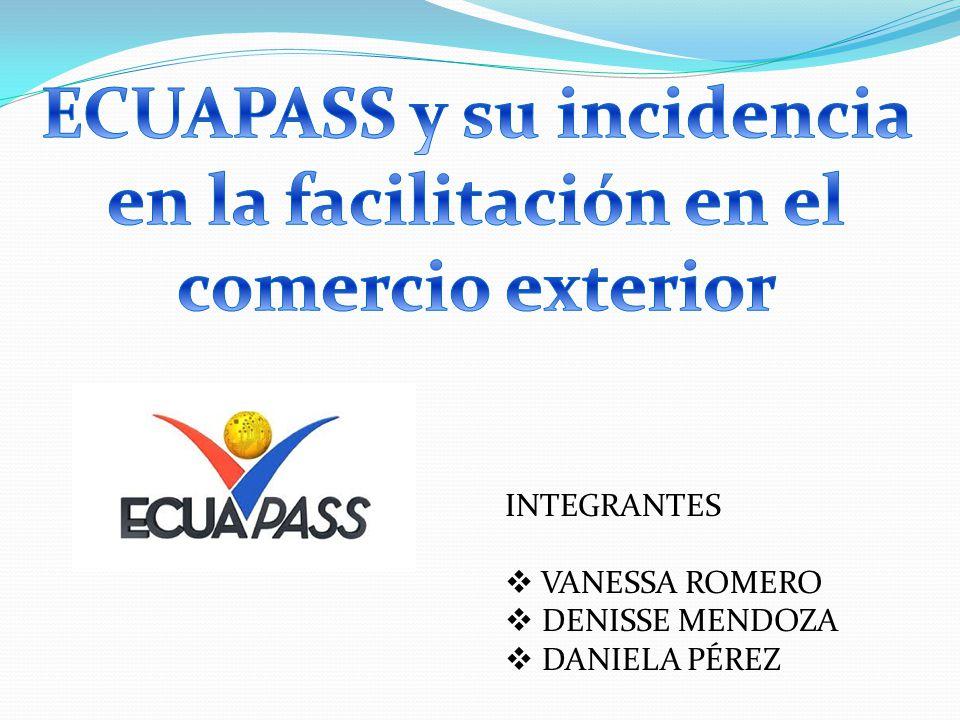 ECUAPASS y su incidencia en la facilitación en el comercio exterior