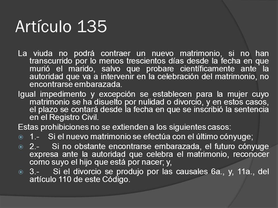 Artículo 135