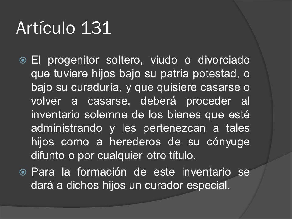 Artículo 131