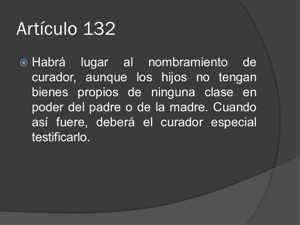 Artículo 132