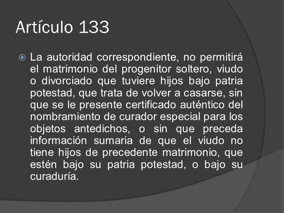 Artículo 133