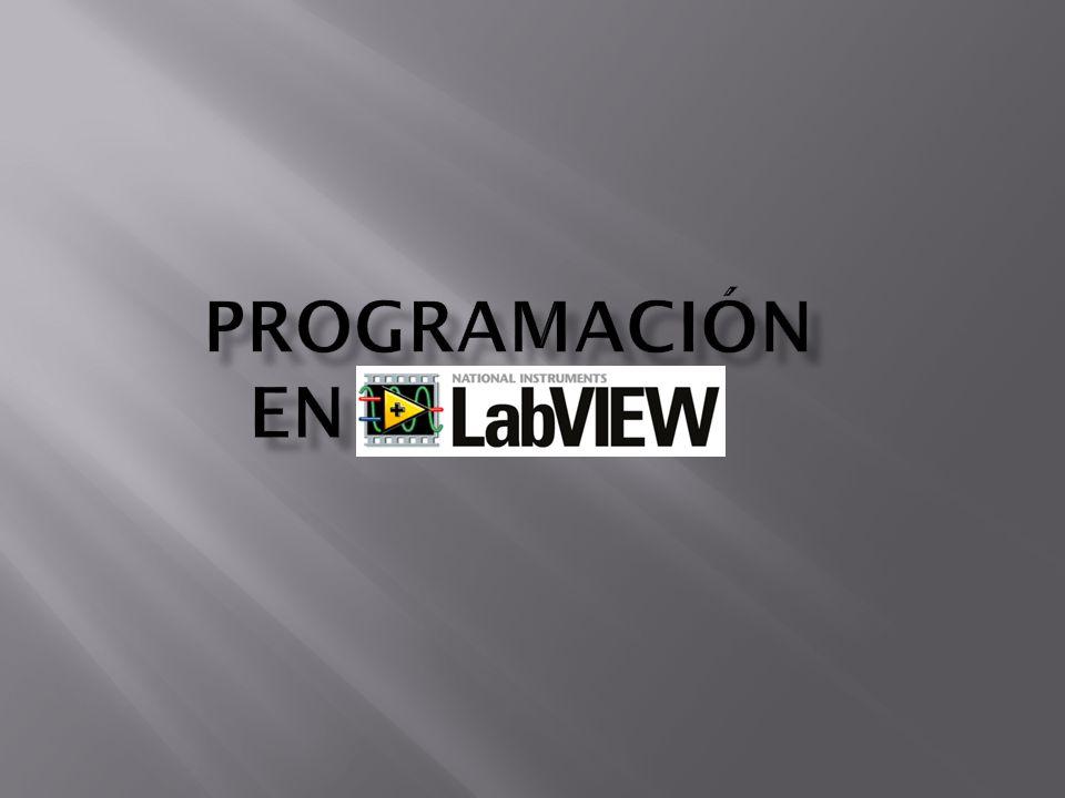 ProgramaCIÓN en LABVIEW