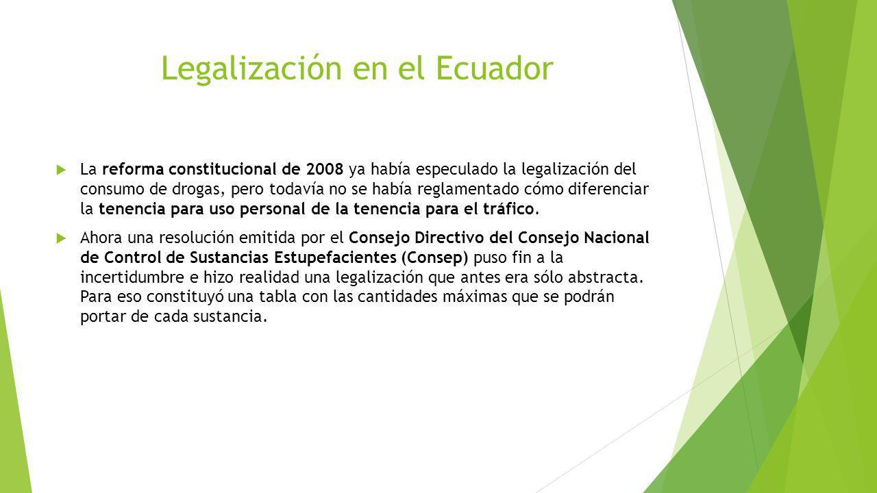 Legalización en el Ecuador